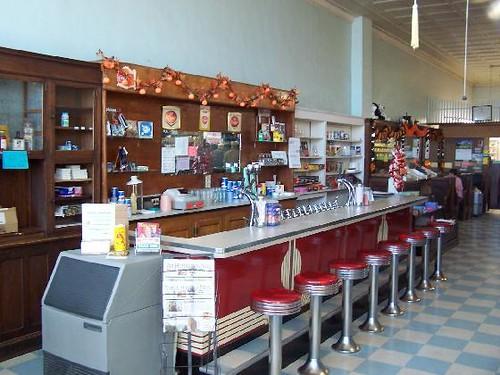 Soda Fountain At Hunter Drug Store Flickr Photo Sharing