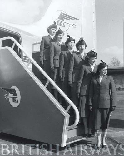 1940s - BEA stewardesses