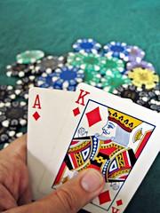 Winning Blackjack hand