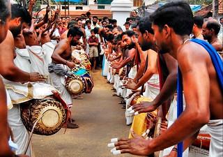 ത്രിപുട...| Panchavadyam