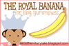 royal banana for blog yumminess