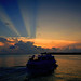 Sunset Cruise..Key West Florida by Bernie Kasper
