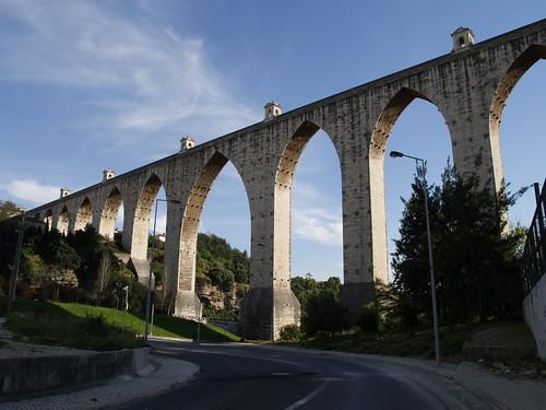 Aqueduto das Águas Livres. Lisbon. Portugal