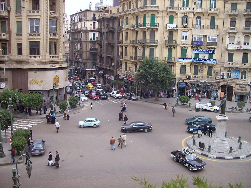 View From Hostel Balconey - Cairo