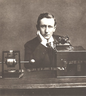 Portrait of Guglielmo Marconi (1874-1937), Engineer and Physicist | by Smithsonian Institution