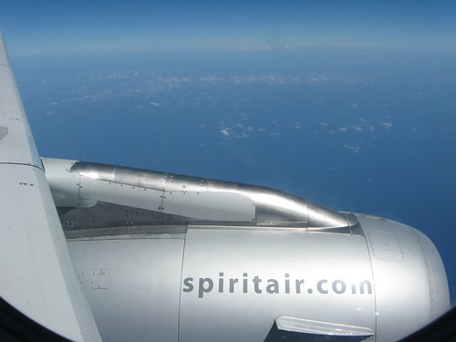 spirit air: we charge you for snacks