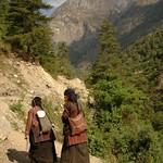 Tibetan Women - Annapurna Circuit, Nepal