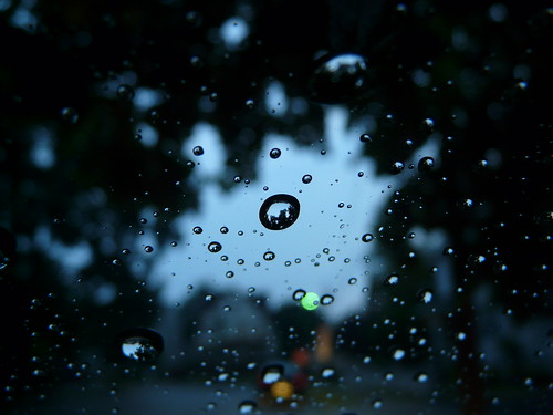 sky window water car rain droplets newjersey cityscape bokeh nj