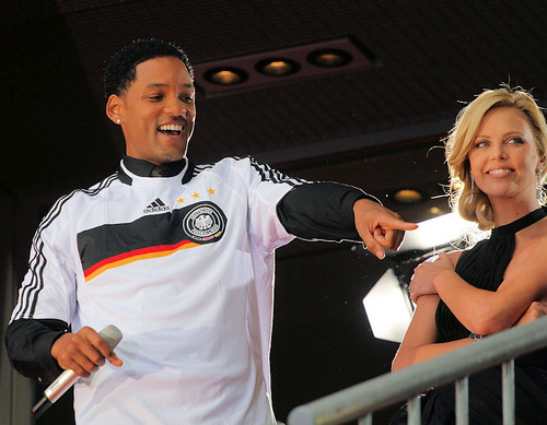 Will Smith und Charlize Theron by SpreePiX - Berlin