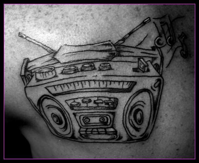 Boombox Tattoo | Explo...