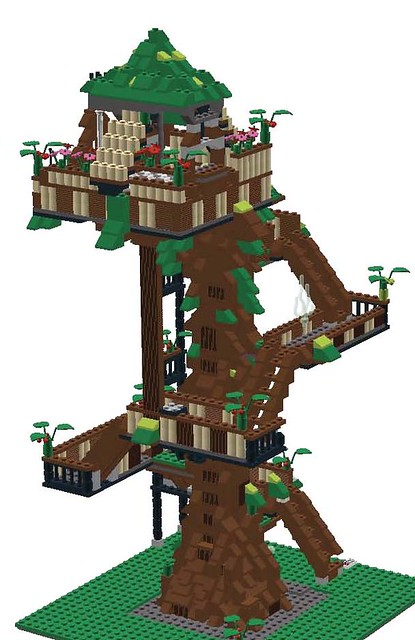 My Tropical Treehouse Front View