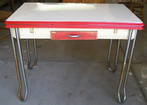 Antique  S Enamel Top Kitchen Tables Prices