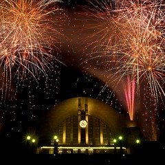 Union Terminal 75th Anniversary Fireworks