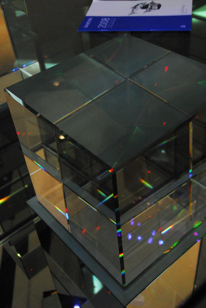 d-cube crystal