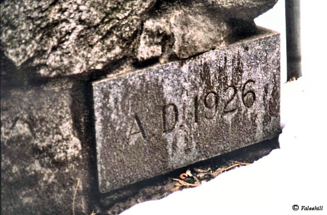 Yosemite:  Ahwahnee Hotel cornerstone from Flickr via Wylio