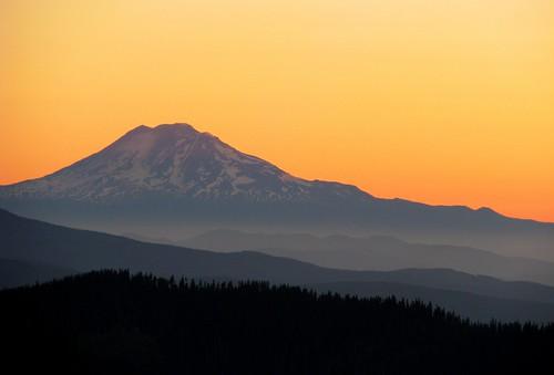 sky orange mountain oregon sunrise washington searchthebest cascades