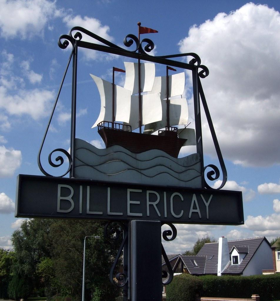 Billericay Village / Town sign