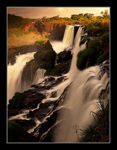 sunset argentina america sunrise michael waterfall amazon rainforest san martin south falls anderson tropical cascade iguazu pantanal
