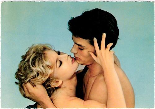 Alain Delon, Brigitte Bardot