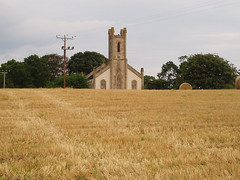 The Old Church of Urquhart by Elgin, West View