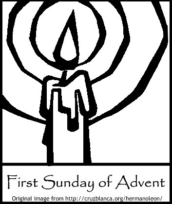 First sunday of advent a photo on flickriver advent calendar coloring pages advent coloring pages hope The Transfiguration Coloring Page