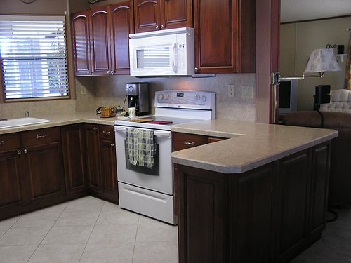 Mobile home kitchen flickr photo sharing for Mobile home kitchens pictures