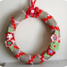 Linen Christmas Wreath
