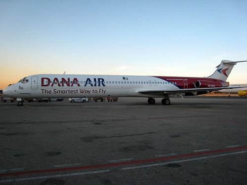 "Dana Air MD-83 ""5N-RAM"" Lagos"