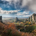 The Valley Of Fog - (HDR Meteora, Greece) by blame_the_monkey