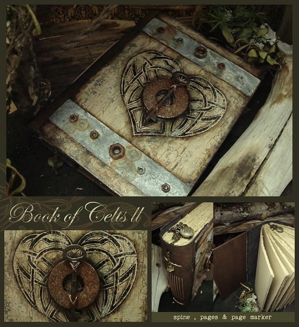 Book of Celts II - Mixed Media Journal