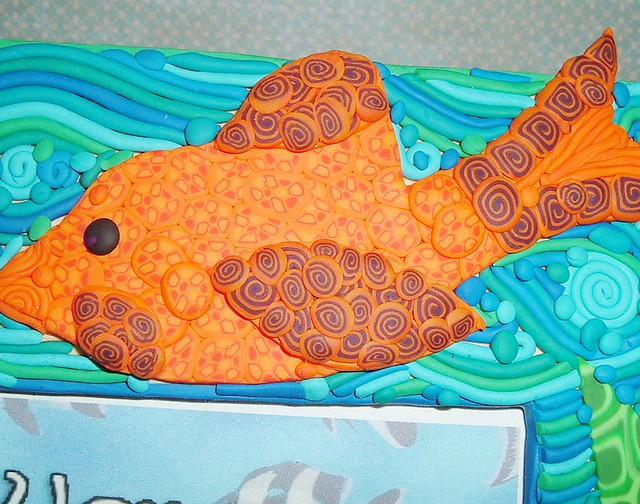 Fish frame two closeup flickr photo sharing for Fish photo frame
