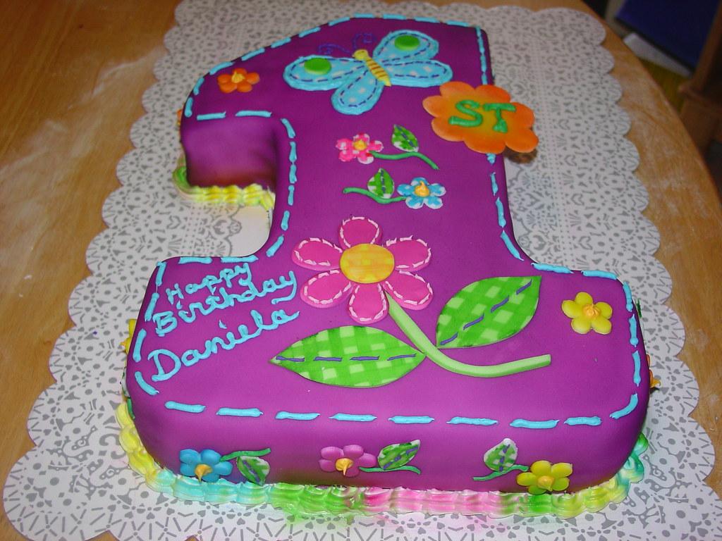 First Birthday Cake Girl Charleylassbcglobal A Photo On