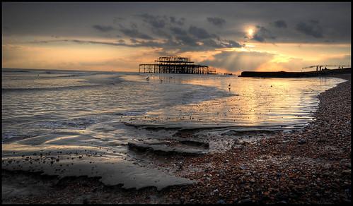 uk sunset sea england beach seaside nikon brighton unitedkingdom sigma betty explore westpier d200 1020mm eastsussex soe hdr blueribbonwinner betterthangood theperfectphotographer boblyp