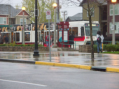 the MAX line at Orenco (by: George O Goodman, creative commons license)