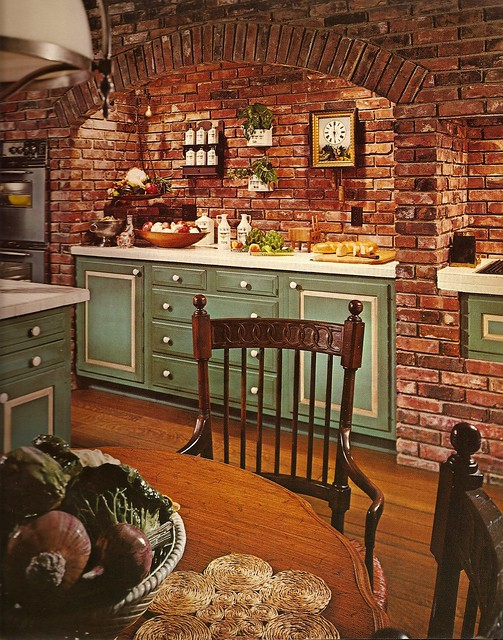 1970s architectural digest kitchen flickr photo sharing for Architecture 1970