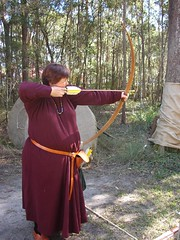 archery, weapon, longbow, cold weapon, bow and arrow,
