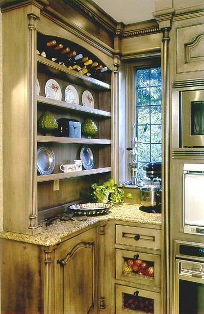 French Country Kitchen Counter Stools