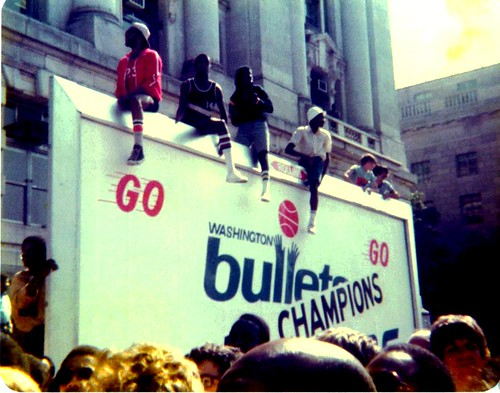 washington, bullets, 1978, championship, parade, celebration, dc, basketball, truth about it, adam mcginnis