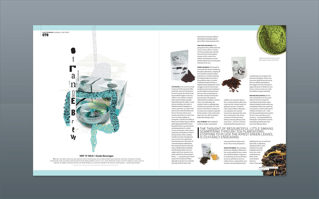 Modern design magazine strange brew a photo on for Brewery design software