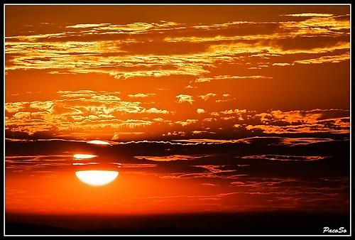 sunset naturaleza nature natura puestadesol navarra pacoso erreniega