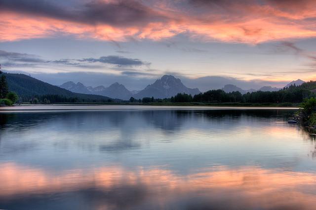 Oxbow Sunset, Grand Teton National Park
