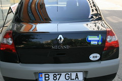 renault clio renault sport(0.0), hatchback(0.0), automobile(1.0), automotive exterior(1.0), vehicle(1.0), subcompact car(1.0), compact car(1.0), bumper(1.0), land vehicle(1.0),
