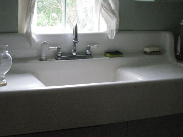 Farmhouse Porcelain Sink : Farmhouse sink Flickr - Photo Sharing!