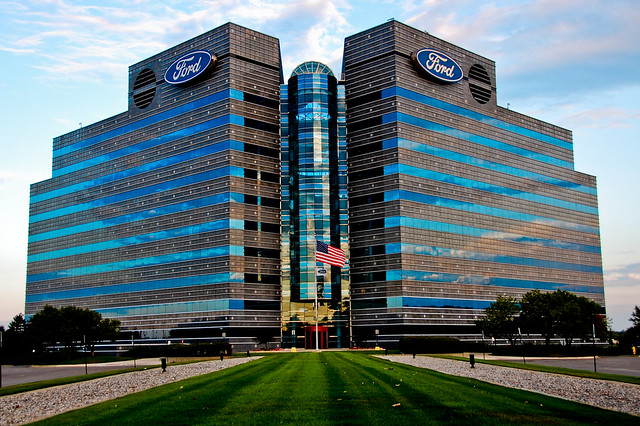 Ford hq wide flickr photo sharing for Ford motors corporate office