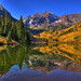 Maroon Bells, Aspen, Colorado by Thad Roan - Bridgepix