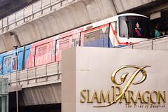 Skytrain at Siam