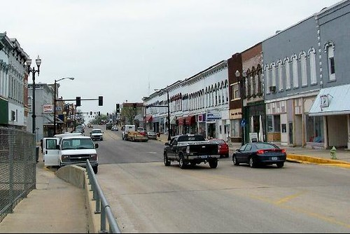 Downtown Independence, Iowa