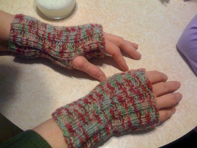 Nana's Wrist Warmers