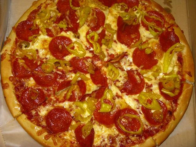banana pepper pizza - photo #8