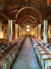 Barrel Room at Ch. Mayne Lalande